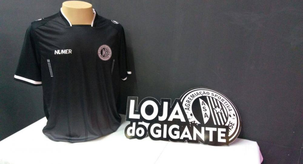 NOVO MANTO | Terceira camisa do ASA é apresentada ao torcedor em evento no Shopping